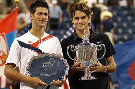 Novak Djokovic defeated Roger Federer